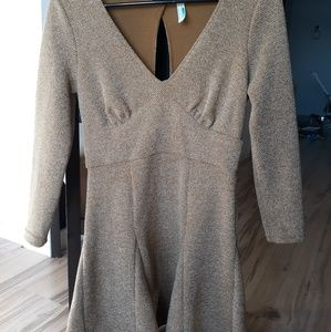 Free People Olive Green Dress